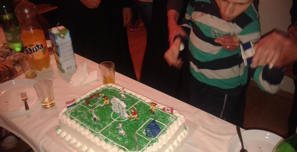 Konf. sv.Luke - Otok i Klapa sv.Luke - Otok na proslavi 18-og rođendana kod Ivana