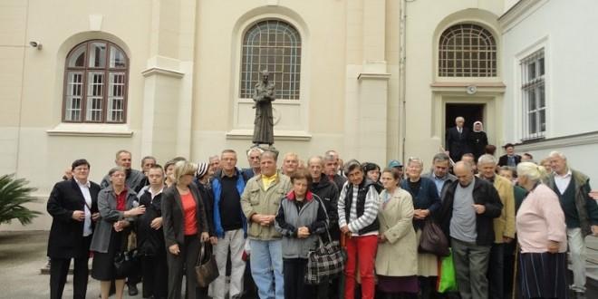 Proslava sv. Vinka Paulskog u Zagrebu sa korisnicima Pučke kuhinje