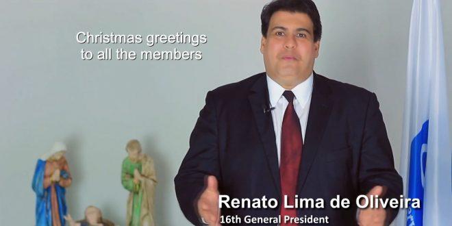 Božićna poruka Generalnog predsjednika udruge Renato Lima de Oliveira