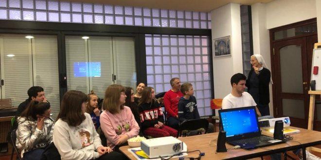 Radionica s učenicima – gledanje filma